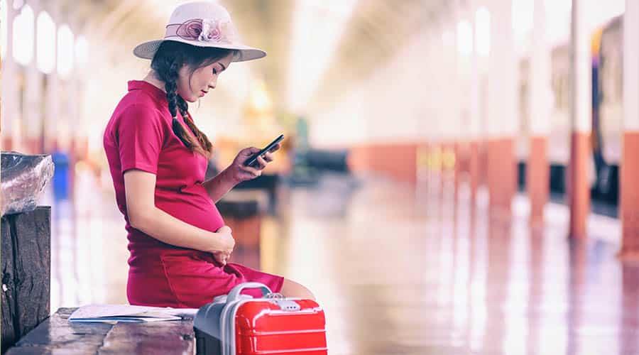 εγκυμοσύνη και ταξίδι