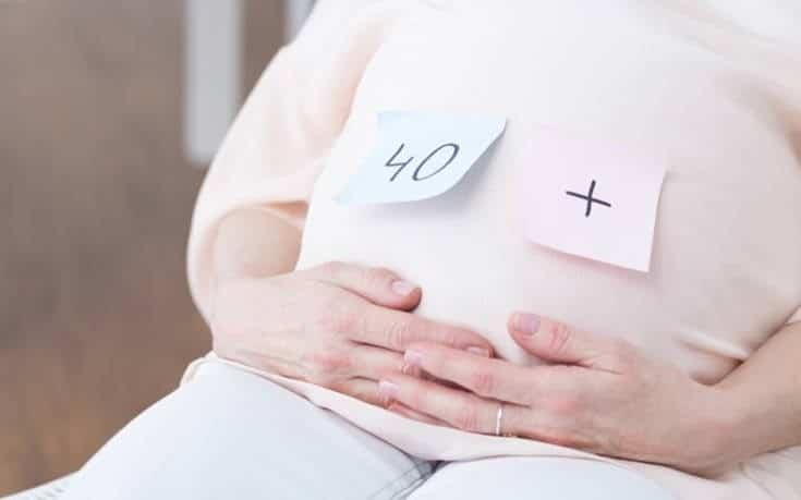 γονιμότητα ανά ηλικία