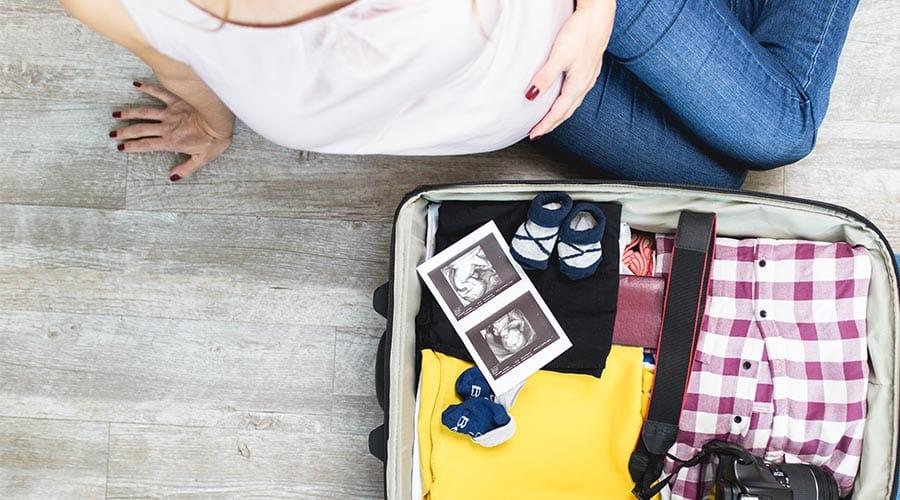 εγκυμοσύνη και ταξίδια